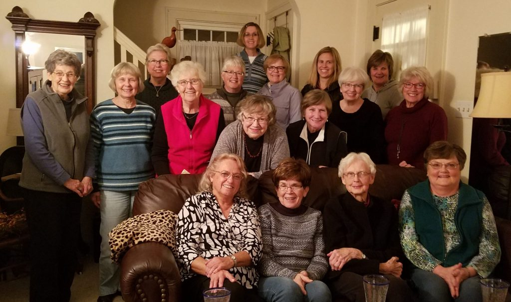 Photo of book club members, November 2019